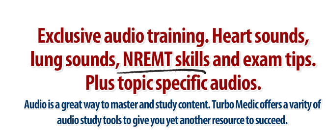 nremt ems paramedic audio training study help
