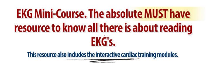 ekg study help paramedic ecg training